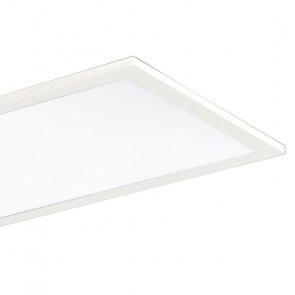 Panneau led blanc suspendu de forme...