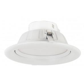 INC-EXIGE-20W - Spot encastré rond en plaque de plâtre en aluminium blanc à lumière naturelle de 20 watts