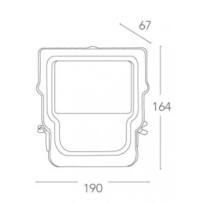 LED-MAXWELL/50W - Proiettore per...