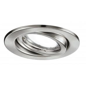 INC-MATRIX-LEDM1 NIK - Faretto a Incasso Orientabile Tondo Metallo Nikel Controsoffitto Led 6 watt Luce Calda