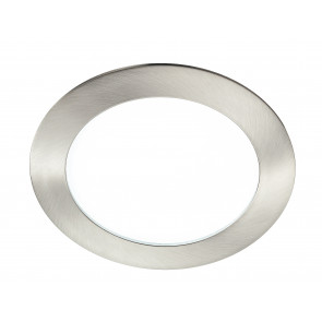 INC-SLIM / 12W NIK - Spot encastré rond en aluminium Nikel Low Ceiling Led 12 watts Natural Light