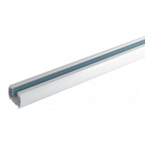 LED-TRACK-1M - Binario bianco per faretto led di 1 m