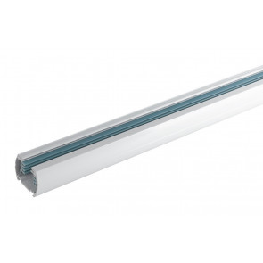 LED-TRACK-1M - Binario bianco per faretto led di 1 m