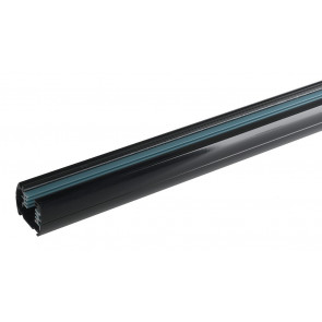 LED-TRACK-1M NERO - Binario nero per faretto led di 1 m