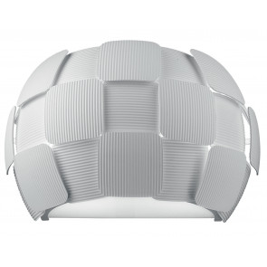 I-NECTAR-AP2 - Applique décoration Peintures Lampe Moderne Polycarbonate Blanc E14