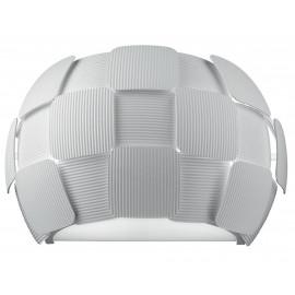 I-NECTAR-AP2 - Applique decoro Quadri Policarbonato Bianco Lampada Moderna E14