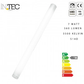 Ampoule à tube LED 7 watts 9 watts S14D