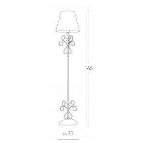 I-PERLA / PT - Élégant lampadaire en...