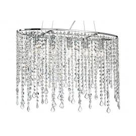 Suspension en métal avec pendentifs K9 Crystals Breeze Fan Europe Line