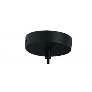 Pendente Nero Linea Broadway Fan Europe