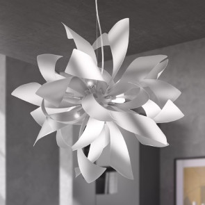 lustre minimal i-bloom-s6 ventilateur europe blanc ou or