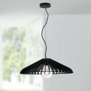 pendente lampada per ristorante nero
