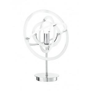 I-ATOM / L1 BCO - Abat Jour Atomic Acrylic White Modern Steel E14