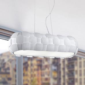 I-NECTAR-S4 - Lustre blanc avec des peintures modernes en polycarbonate intérieur E27