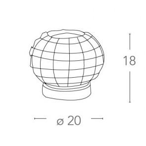 I-CONCERT / L - Lampe de table ronde...