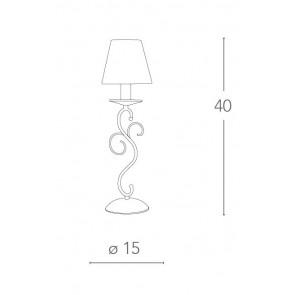 Lampada da Tavolo Cristallo K9...