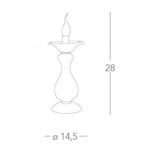 I-SOFFIO / LUME - Lampe de table...