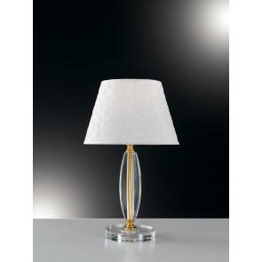 I-EPOQUE/L1 - Lumetto Cristallo Finitura Oro Lampada da Tavolo Classico E27