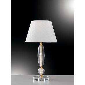 I-EPOQUE/LG1 - Lampada da Tavolo Classica Cristallo Finitura Oro E27