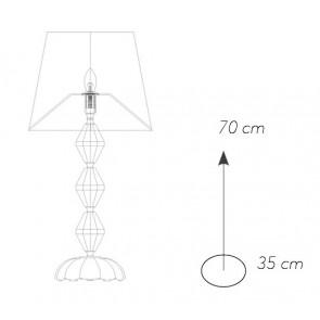 I-RIFLESSO/LG1 ORO - Lampada da...