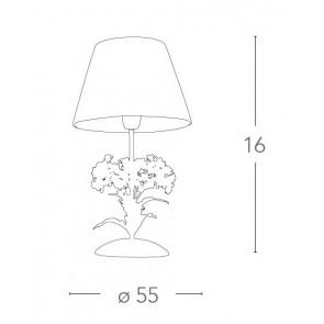 I-ORTENSIA/LG1 - Lampada da Tavolo...