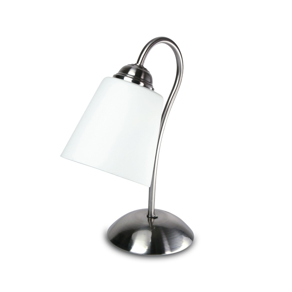 Lampada Da Comodino Argento.I 1162 L Nik 8031414088966 Fan Europe Lighting Lumetto Argento 1162