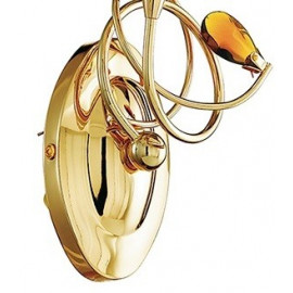 Décoration en métal doré avec cristal K9 Ely FanEurope