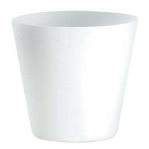 I-RCB1162 NK - Abat-jour en verre blanc F30