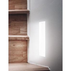 I-ARIEL-QL1 - Spotlight Paintable Rectangulaire Rectangulaire Encastré Placoplâtre GU10 mini