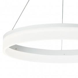 Diffusore a Anello in Acrilico Struttura in Alluminio Luce Led Saturn