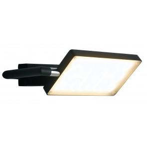 LED-BOOK-AP-NERO - Applique Murale Réglable en Aluminium Noir Livre Lampe Led 17 watts Lumière Chaude