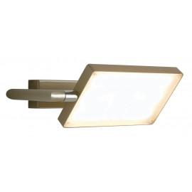 LED-BOOK-AP-ORO - Applique murale en aluminium doré Lampe de livre réglable Led 17 watts lumière chaude