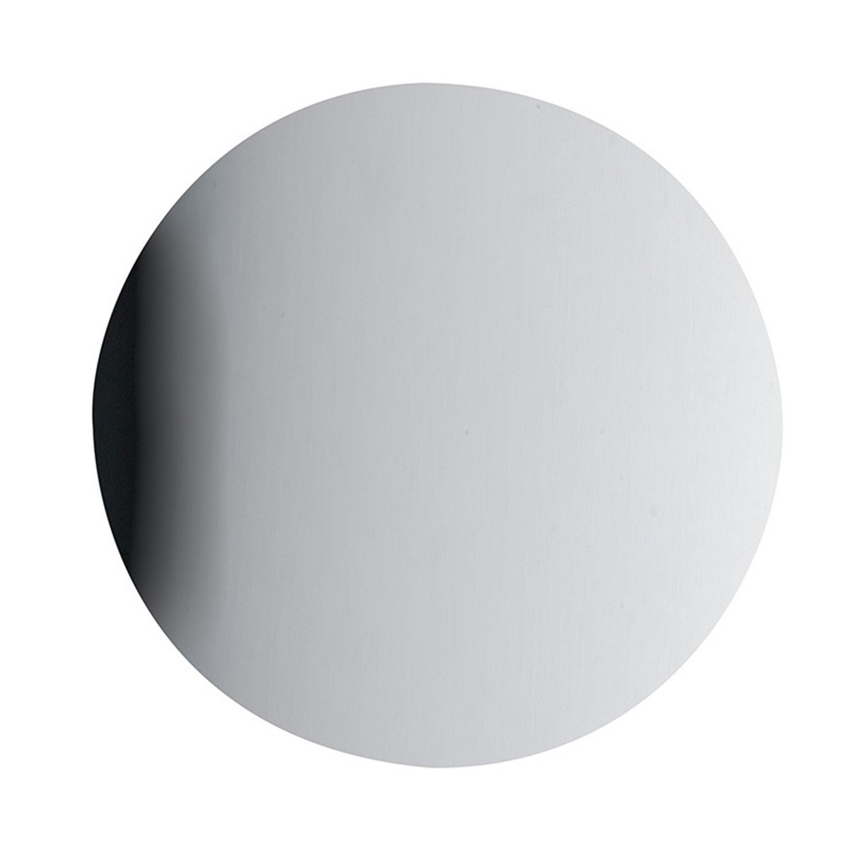LED-ECLISSE/AP30 CR - Applique Cromo Moderna Tonda Metallo Lampada Led 11 watt Luce Naturale