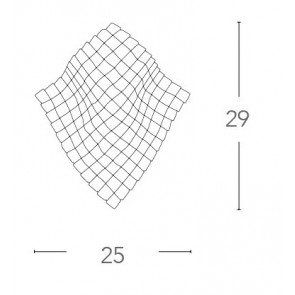 Applique murale moderne Rhombus K9...