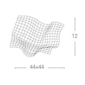 I-RUMBA-H2O / PL44 - Plafonnier vague...