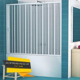 Baignoire Niche Murale PVC Soufflet 140150160170 h150