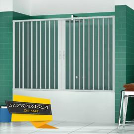 Soufflet de baignoire mural niche 140150160170 h150 en pvc