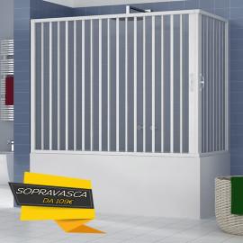 Cabine de douche Baignoire murale en pvc 70x140 70x150 70x160 70x170