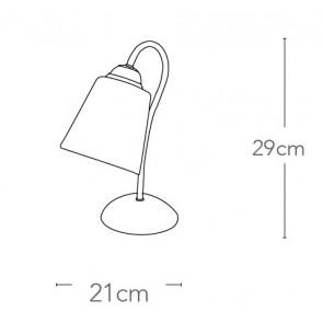 I-1162 / L NIK - Lampe de table E14...