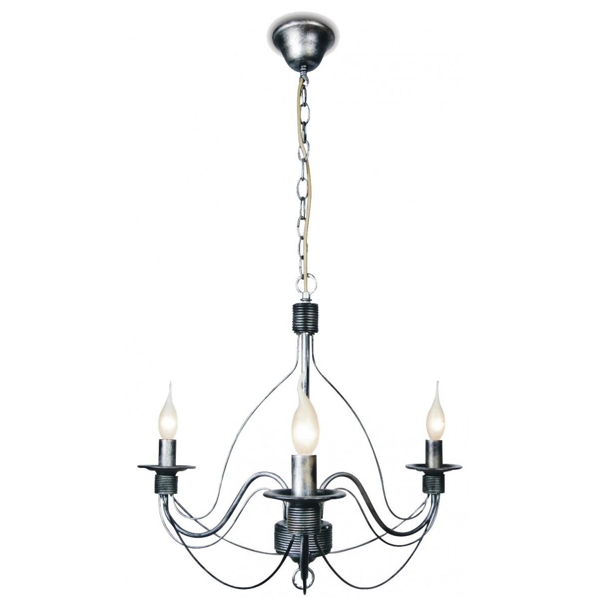 216/00200 - Lampe à suspension traditionnelle de couleur noire 40 watts E14