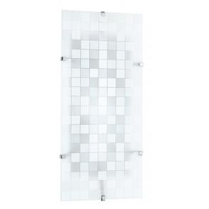 I-KAPPA / M FLASH - Plafonnier avec décoration en mosaïque rectangulaire Mur de plafond en verre moderne E27