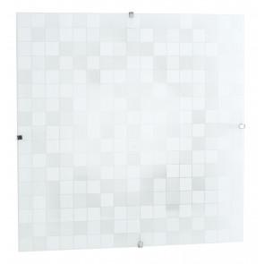 I-KAPPA-LD/Q FLASH - Plafoniera Moderna Quadrata Vetro decoro Mosaico Led 42 watt Luce Naturale
