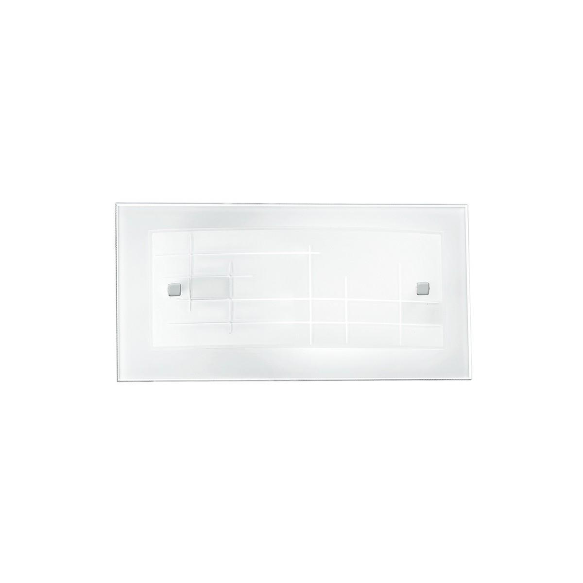 I-MUSA / AP - Applique rectangulaire Verre Cadre photo Décoration Applique classique E27