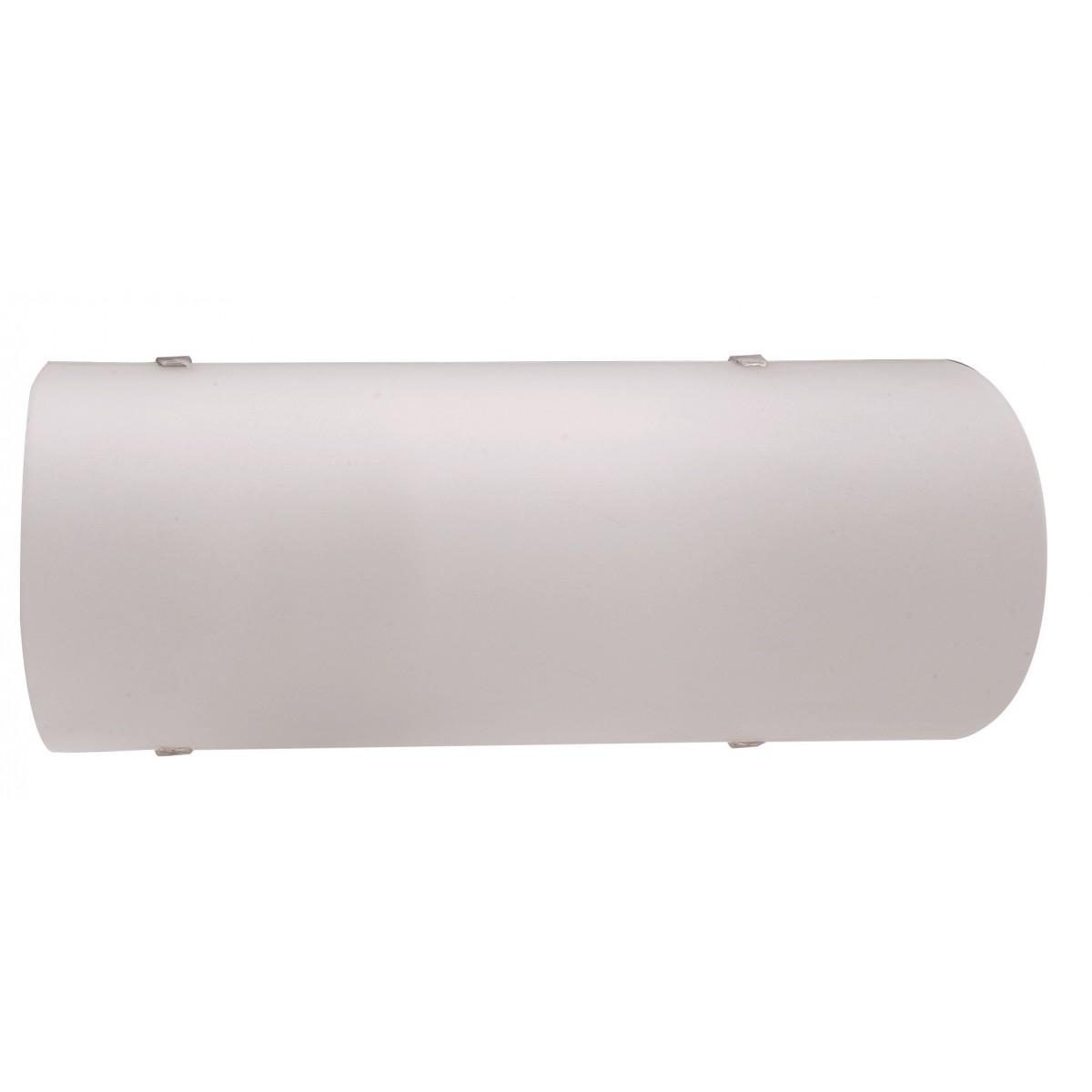 I-AMY/AP - Applique Semplice Vetro Bianco Interno Classico E27