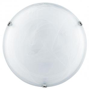 32/04010 - Plafonnier rond en verre blanc dégradé E27