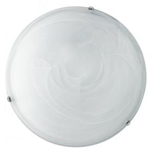 32/28101 - Plafonnier rond en verre dégradé blanc E27