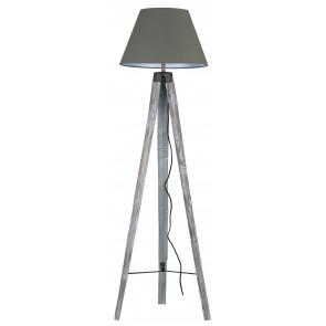 I-GALLERY/PT - Lampada con tre piedi colore tortora 60 watt E27