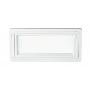 Faretto Incasso Alluminio Bianco Opaco Soffitto Ribassato Led 12 watt Luce Naturale
