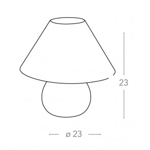 I-174/01400 - Lampe de table en bois...