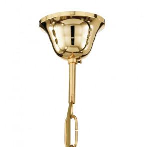 Chaîne de suspension en métal doré E27